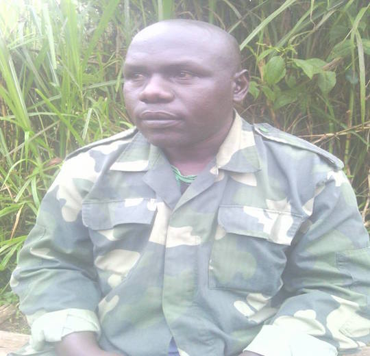 Colonel Jean Michel - Spokesperson of AN - Imbonezagutabara